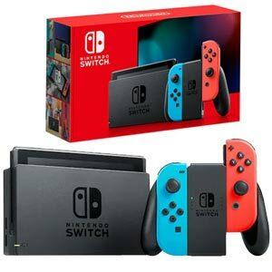 Nintendo Switch Neon เครื่องเล่นเกมพกพาที่ดีที่สุด