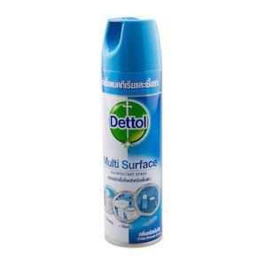 สเปรย์ฆ่าเชื้อโรคสำหรับพื้นผิว Dettol Spray (Crisp Breeze)