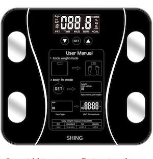 เครื่องชั่งน้ำหนักดิจิตอล Electronic Weight Scale Muscel Body Fat Scales