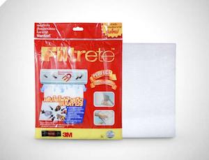 Filtrete™ Air Conditioner Filters แผ่นดักจับสิ่งแปลกปลอมในอากาศ (15x24 นิ้ว) รุ่น 9808