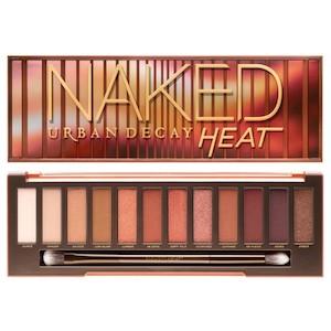 อายแชโดว์นักเก็ต Urban Decay Naked Heat Eyeshadow Palette