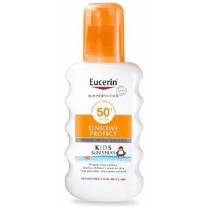 สเปรย์กันแดดสำหรับผิวเด็ก Eucerin Sun Kids Spray SPF50+