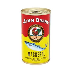 อะยัม ปลากระป๋อง ปลาแมคเคอเรลในซอสมะเขือเทศ