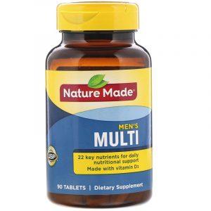 Nature Made Men's Multi วิตามินรวมสำหรับผู้ชาย
