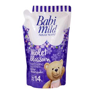 BabiMild ผลิตภัณฑ์ปรับผ้านุ่มเบบี้มายด์ กลิ่น ไวโอเล็ต บลอสซั่ม