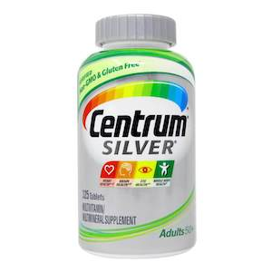 อาหารเสริมผู้สูงอายุ Centrum Silver Multivitamin for Adults 50+