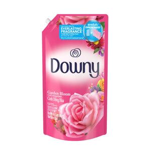 Downy สวนดอกไม้ผลิ ผลิตภัณฑ์ปรับผ้านุ่ม สูตรเข้มข้นพิเศษ