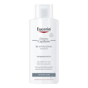 Eucerin Democapillaire Re-Vitalizing Shampoo Thinning Hair  แชมพูลดผมขาด หลุดร่วง บำรุงผม