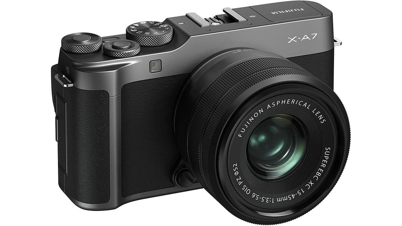 Fujifilm X-A7 Kit 15-45 mm.