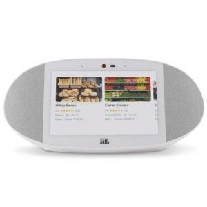 JBL Link View Voice-Activated Wireless Smart Speaker with HD Touch Screen