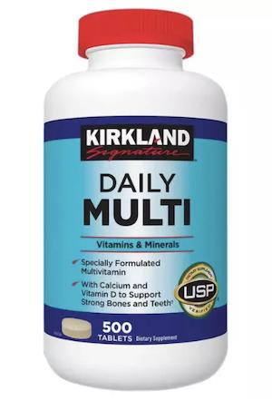 วิตามินรวม Kirkland Signature Daily Multi Vitamins Minerals