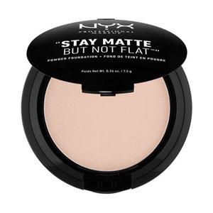 แป้งผสมรองพื้น NYX Professional Makeup Stay Matte But Not Flat Powder Foundation