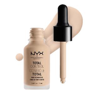 รองพื้นกันน้ำ NYX Professional Makeup Total Control Drop Foundation