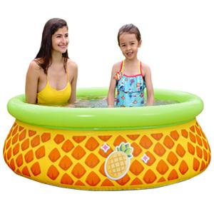 Pineapple 3D Spray Pool สระเป่าลมทรงกลมลายสับปะรด