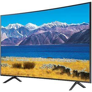 Samsung Crystal UHD 4K Smart Curve TV ทีวีจอโค้ง 55 นิ้ว รุ่น 55TU8300