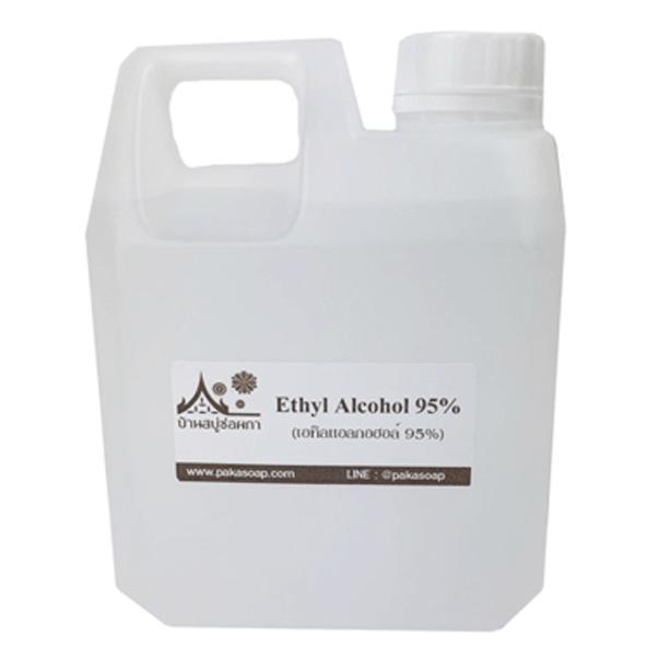 เอทิลแอลกอฮอล์ (Ethyl alcohol 95%) 1000ml