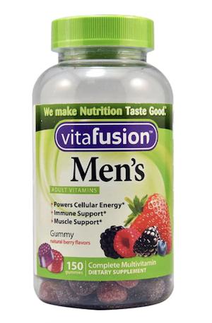 Vitafusion Men's วิตามินรวมสำหรับผู้ชาย