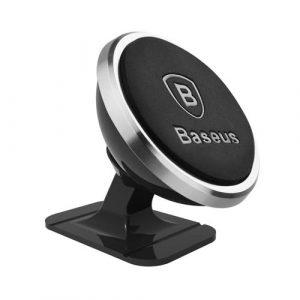 BASEUS ที่วางโทรศัพท์แถบแม่เหล็กติดรถยนต์ Stick and Go Rotation Magnetic Mount Holder