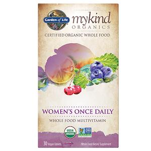 วิตามินรวมผู้หญิง Garden of Life Mykind Organic Women's Once Daily