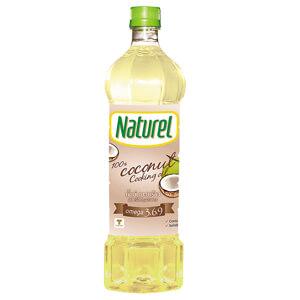 น้ำมันมะพร้าว ตรา Naturel