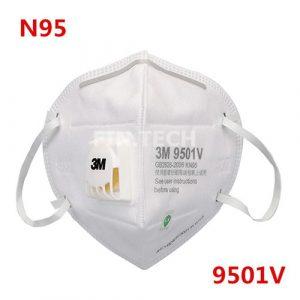 หน้ากาก N95 รุ่น 9501V แบบกล่อง (25ชิ้น)