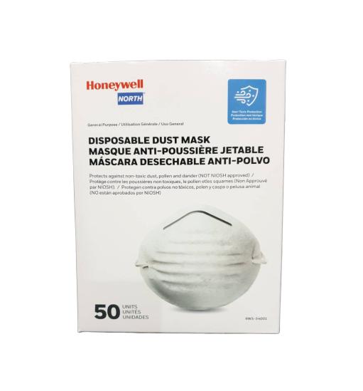 Honeywell หน้ากาก n95 รุ่น RWS-54001 (50 ชิ้น)