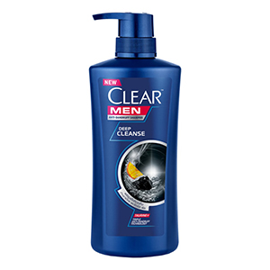 CLEAR Anti Dandruff Shampoo Men Deep Clean Silver