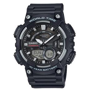 Casio Standard นาฬิกาข้อมือ 10 year รุ่น AEQ-110W-1A