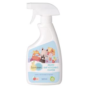 Lamoon น้ำยาทำความสะอาดสำหรับของใช้เด็ก สูตร ออร์แกนิค