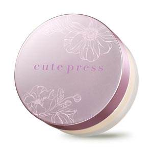 แป้งฝุ่น Cute Press 1-2 Beautiful Ultra Fine Matte Loose Powder