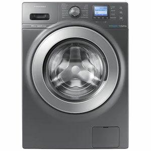 SAMSUNG เครื่องซักผ้า/อบผ้าฝาหน้า รุ่น WD12F9C9U4X