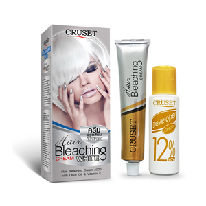 CRUSET Hair Bleaching Cream A000 ครูเซ็ท ครีมฟอกสีผม 75 กรัม