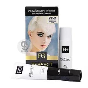 Farger FG Perfect Hair Bleaching Cream ครีมฟอกสีผมฟาเกอร์ ไฮโดรเจน 9%