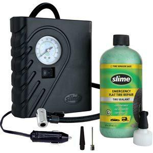 Slime Smart Spair สไลม์ชุดน้ำยาอุดยางรั่วฉุกเฉิน พร้อมปั้มลมพกพา