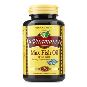 Vitamate Fish Oil น้ำมันปลา บำรุงหลอดเลือดหัวใจและสมอง
