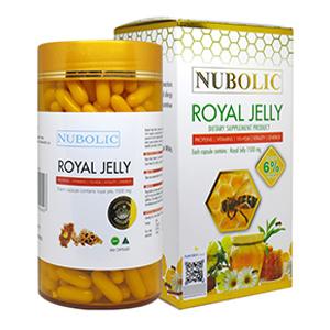 อาหารเสริมนมผึ้ง Nubolic Royal Jelly