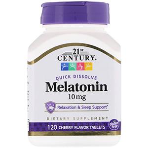 อาหารเสริมเมลาโทนิน 21st Century Melatonin