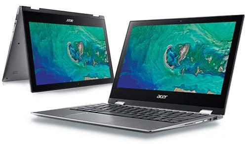 โน้ตบุ๊ค Acer Notebook 2in1 รุ่น SPIN SP111-34N-P53K
