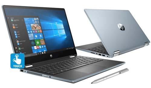 โน๊ตบุ๊คทูอินวัน HP Notebook 2in1 รุ่น Pavilion x360 Convertible (14-dh1060TX)