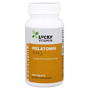 อาหารเสริมเมลาโทนิน Lucky Vitamin Melatonin