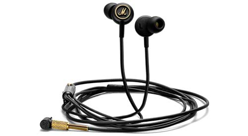 Marshall หูฟังอินเอียร์ สามารถเลือกโทนเสียงได้ 2 เเบบ รุ่น Mode EQ
