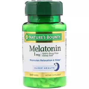 อาหารเสริมเมลาโทนิน Nature's Bounty Melatonin