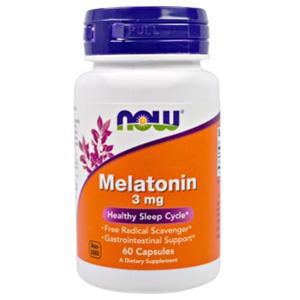 อาหารเสริมเมลาโทนิน Now Foods Melatonin