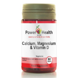 อาหารเสริมแมกนีเซียม Powerhealth Calcium Magnesium and Vitamin D