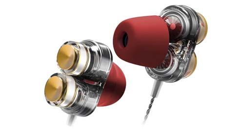 QKZ หูฟัง 2 ไดรเวอร์ เบสสนั่น ระดับ Hi-Res รุ่น KD7