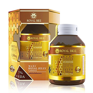 Royal Bee Maxi Royal Jelly อาหารเสริมนมผึ้ง