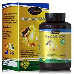 อาหารเสริมนมผึ้ง Royal jelly Auswelllife