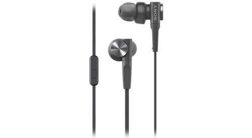 Sony หูฟังอินเอียร์ เบสลึก นุ่มนวล รุ่น MDR-XB55AP