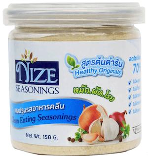 ผงไนซ NIZE ผงปรุงรสอาหารคลีน สูตรต้นตำรับ ลดโซเดียม 70%