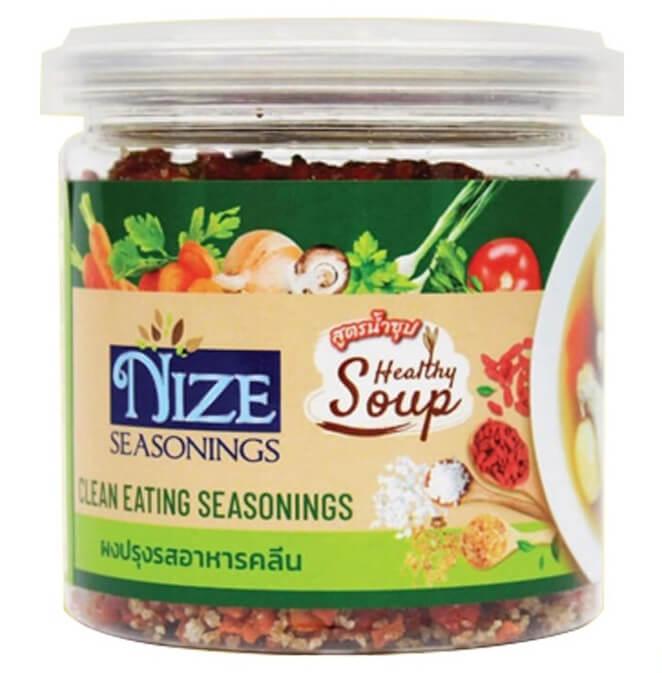 ผงไนซ NIZE ผงปรุงรสอาหารคลีน สูตรน้ำซุป